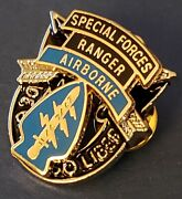 Special Forces De Oppresso Liber Ranger Airborne Military Veteran Us Army Pin