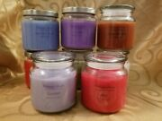 16 Oz Apothecary Jar Candles - Assorted Scents And Colors - By Melmade Scents