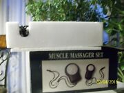18 Vintage Dillardand039s Muscle Massager Set For Muscle Pain New In Box