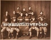 Antique 1905 Chicago Thistles American Football Team History Uniform Shoes Photo