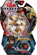 Bakugan Ultra, Pyravian, 3-inch Collectible Action Figure And Trading Card, For