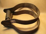 1880and039s High Back Saddle Cowboy Stirrups Heavy Duty Need A Weld