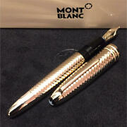 Fountain Pen Solitaire Geometric Dimension 146 Le Grand F/s From Japan