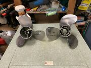 Mercury Outboard 15 1/2 X 24 Left Hand Prop 14 1/4 X 24 Right Hand Prop