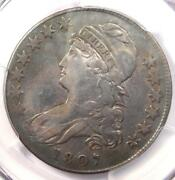 1807 Capped Bust Half Dollar 50c Coin - Certified Pcgs Vf Details