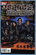 Space Above And Beyond The Gauntlet 1 1996 Roy Thomas Yanick Paquette Topps Comic