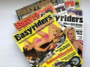 Easyriders Magazine 1999 9 Issues Avail, Francine Dee, You Pick Volume Discount