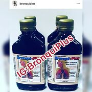 Lot Of 4 Bronqui+ Plus | Glass Bottle Not Plastic | 100herbal Extract | 8 Oz