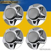 4pcs Chrome Wheel Hub Cap Center Cover Fit For 1997-2003 Ford F150 And Expedition