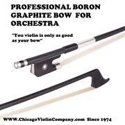 Highest Quality Boron Graphite Violins Bow 4/4 For Orchestra