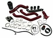 Wc Fab S300 Single Turbo Install Kit For 06-07 Duramax Lbz Deore Gol