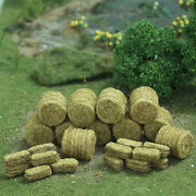 Free Shipping Mp Scenery 150 Brown Hay Bales Ho Scale Model Farm Railroad Layout
