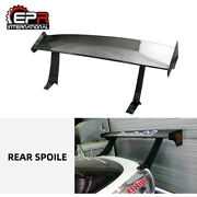 Carbon Gt Spoiler Parts For Nissan S13 180sx Drifting Wing Kitfiting In Fender