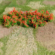 Free Shipping Mp Scenery 140 Red Poppies O Architectural Model Railroad Layout