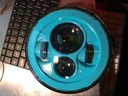7andprime Replacement Teal Projector Hid Led Light Bulb Headlight Motorcycle Harley