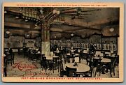 Postcard New York City Ny C1910s Automat Lunch Room On Broadway Interior View