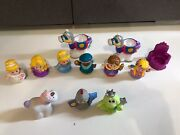 Disney Princess Fisher Price Little People Castle Knight Frog Horse Firgures Lot