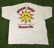 Menandrsquos Vintage Panama City Spring Bake Spoof Comedy Tee Size Xl Single Stitched