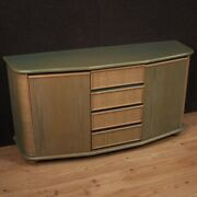 Design Sideboard Furniture In Exotic Wood Modern Vintage Commode Living Room