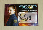 2014 Cryptozoic Enderand039s Game On-card Autograph Auto Hailee Steinfeld As Petra A3