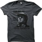 Steve Mcqueen How Are The Brakes The Great Escape Cafe Racer Biker T-shirt