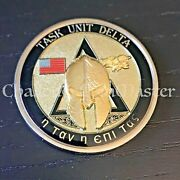 C60 Navy Seal Delivery Vehicle Team One Sdvt-1 Task Unit Delta Challenge Coin