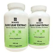 Seagate Olive Leaf Extract 450 Mg 250 V Caps Buy One Get One Free