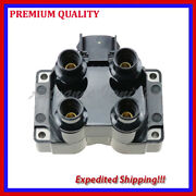 1pc Ignition Coil Ufd300 For 1991 1992 1993 1994 1995 1996 Ford Escort L4 1.9l
