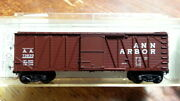 Mtl Micro Trains 28439 New 28100 Aa Ann Arbor 40andrsquo Outside Braced Boxcar 73830