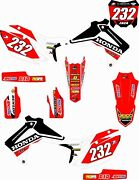 New Dirtx Industries Honda Amsoil Complete Graphic Cr Crf 80 85 125 150 250 450