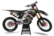 New Dirtx Industries Honda Monster Complete Graphic Cr Crf 80 125 150 250 450