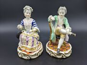 A Pair Of Marcolini Meissen Figures