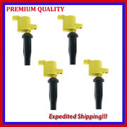 4pc Ufd368y Ignition Coil For 2010 2011 2012 2013 Ford Transit Connect L4-2.0l