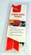 Safety Reflective Triangle By Justincase Car Window Mount Save Your Side Mirror