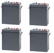 Replacement Battery For Clarke Industries Encore S2426 24 Volts 4 Pack 6v