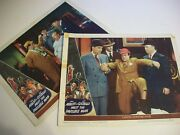 Abbott And Costello Meet The Invisible Man  Lobby Cards 1951
