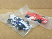 Tyco Mattel Rare F1 Pair Hp Rbs And Vodafone Shell 1 - Canadian Set Cars - New