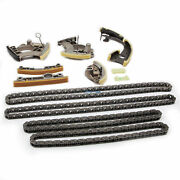 12xengine Timing Chain Tensioner Guide Rail Kit Fit For Audi Vw 3.0t 06e109465as