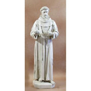 St. Francis Of Assisi With Dove Statue - 74 Fiberglass - Indoor Or Outdoor