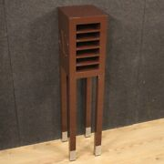 Side Table Furniture Italian Column In Lacquered Wood Valentino Vintage Design