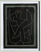 Paul Klee Wachsamer Engel Guardian Angel Lithograph Signed In The Plate