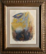 Reuven Rubin, David And The Lord's Angel, Lithograph, Signed And Numbered In Pen