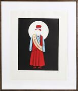 Robert Indiana, Gertrude Stein, Lithograph On Arches, Signed And Numbered In Pen