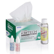 Amscope Microscope Maintenance Kit - Immersion Oil, Wipes And Optical Lens Cleaner