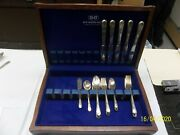 Adoration Pattern Rogers Is Silverplated Silverware 35 Piece With Wood Chest