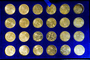 Us 1984 Olympic Commemorative Rapid Transit Tokens Collection