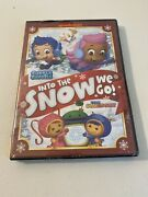 Bubble Guppies/team Umizoomi Into The Snow We Go Dvd, 2013 Free Shipping
