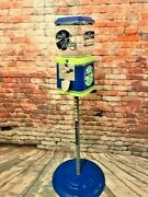 Vintage Gumball Candy Machine Seattle Seahawks Inspired Sport Memorabilia Gift