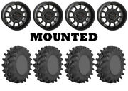 Kit 4 Sti Outback Max Tires 32x9.5-14 On System 3 St-5 Matte Black Wheels Can