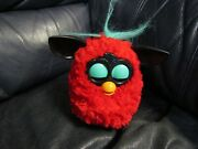 2012 Hasbro Furby Boom Red Black Interactive Electronic Petworks Toy